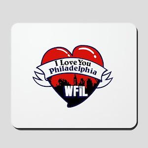 WFIL Philadelophia '78 - Mousepad
