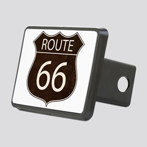 Route 66 Road Sign Hitch Cover
