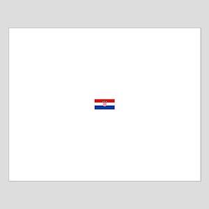 croatia flag Small Poster