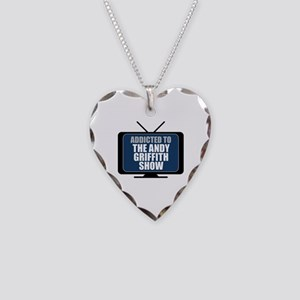 Addicted to the Andy Griffith Show Necklace Heart