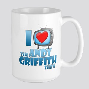 I Heart the Andy Griffith Show Large Mug