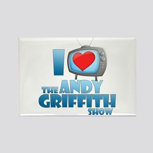 I Heart the Andy Griffith Show Rectangle Magnet