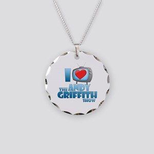I Heart the Andy Griffith Show Necklace Circle Cha