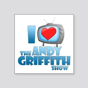 """I Heart the Andy Griffith Show Square Sticker 3"""" x"""