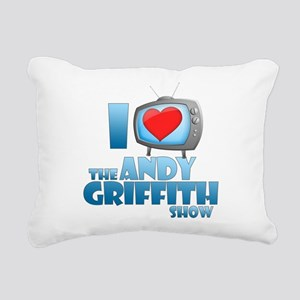 I Heart the Andy Griffith Show Rectangular Canvas