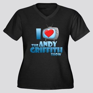 I Heart the Andy Griffith Show Women's Dark Plus S
