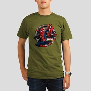 Web Warriors Spider-G Organic Men's T-Shirt (dark)