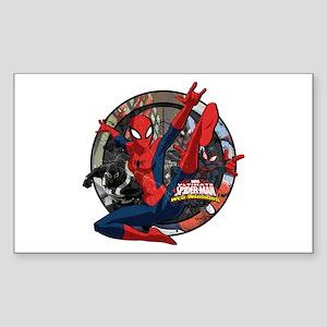 Web Warriors Spider-Girl Sticker (Rectangle)