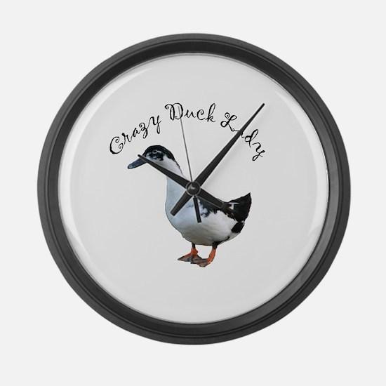 Unique Magpies Large Wall Clock