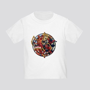 Web Warriors Iron Spider Toddler T-Shirt