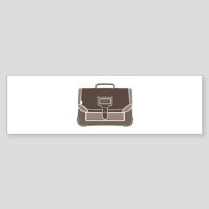 Briefcase Bumper Sticker