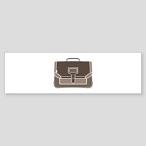 Briefcase Bumper Sticker