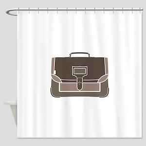 Briefcase Shower Curtain