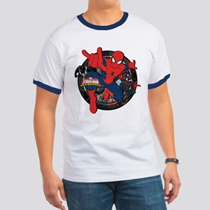 Web Warriors Spider-Man Ringer T