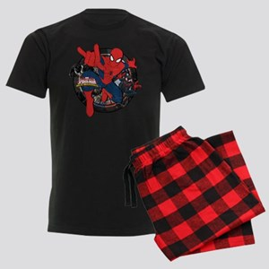 Web Warriors Spider-Man Men's Dark Pajamas