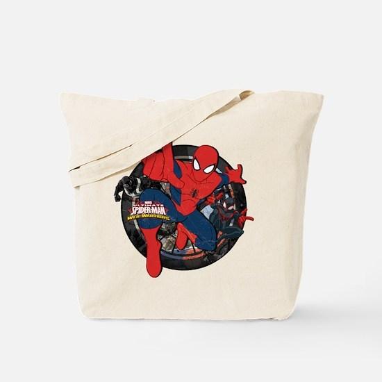 Web Warriors Spider-Man Tote Bag