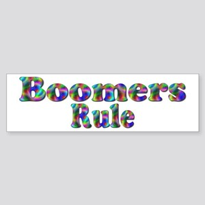 Boomer Bumper Sticker