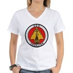 USS CAVALIER Women's V-Neck T-Shirt