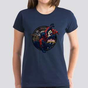 Web Warriors Spider-Man 2099 Women's Dark T-Shirt