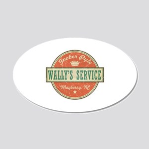 Wally's Service - Goober Pyle 22x14 Oval Wall Peel