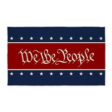 We The People 3'x5' Area Rug
