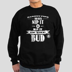 Barney Fife - Nip It Dark Sweatshirt