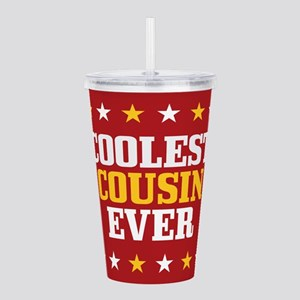 Coolest Cousin Ever Acrylic Double-wall Tumbler
