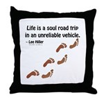 Soul Road Trip Throw Pillow