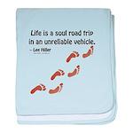 Soul Road Trip baby blanket