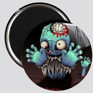 Zombie Monster Cartoon Magnets