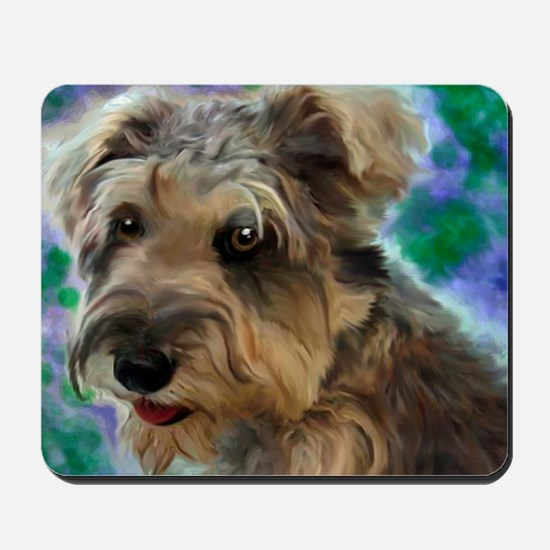 Scruffy Miniature Schnauzer Mousepad