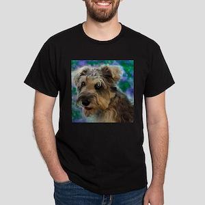 Scruffy Miniature Schnauzer Dark T-Shirt