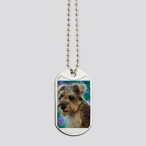 Scruffy Miniature Schnauzer Dog Tags