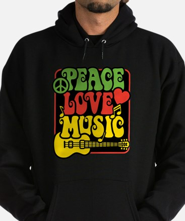 Unique Guitar design Hoodie (dark)