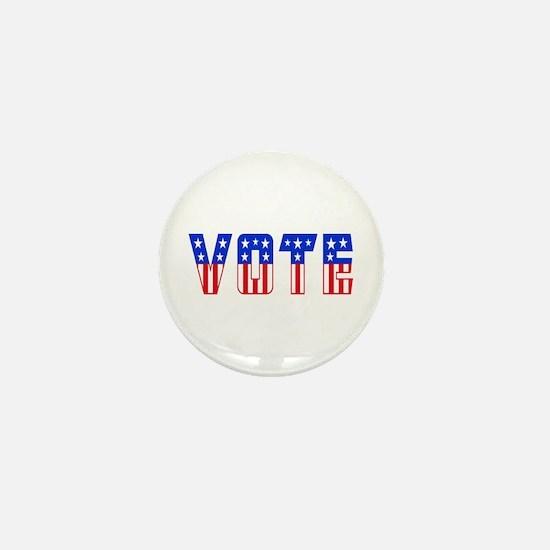 Unique Register vote Mini Button