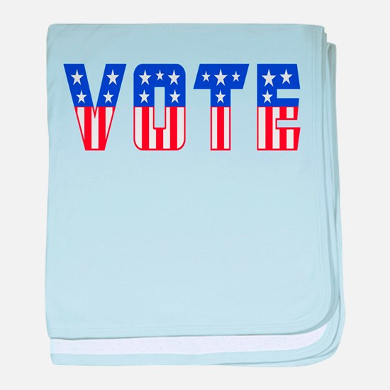 Cute Election baby blanket