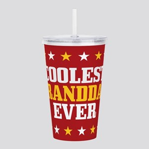 Coolest Granddad Ever Acrylic Double-wall Tumbler