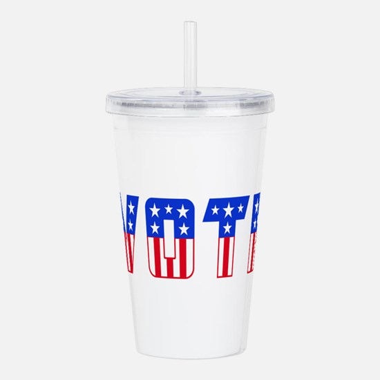 Unique Election Acrylic Double-wall Tumbler