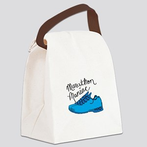 Marathon Maniac Canvas Lunch Bag