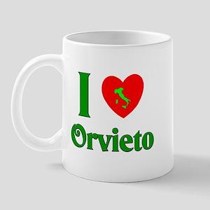 I Love Orvieto Mug