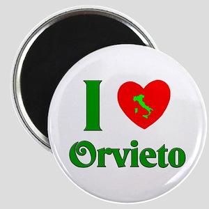 I Love Orvieto Magnet