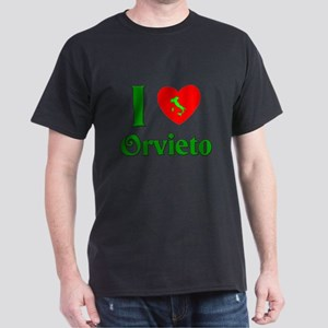 I Love Orvieto Dark T-Shirt