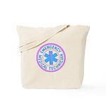 EMT Logo Pastel Tote Bag