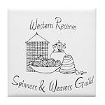 WRSW shop Tile Coaster