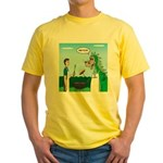 Dragon Grilling Yellow T-Shirt