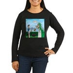 Dragon Grilling Women's Long Sleeve Dark T-Shirt