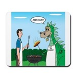 Dragon Grilling Mousepad