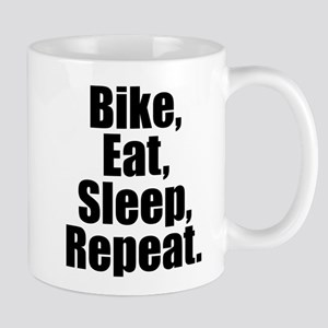 Bike Eat Sleep Repeat Mugs