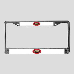 Brew Master License Plate Frame