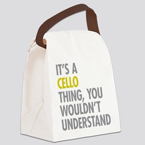 Its A Cello Thing Canvas Lunch Bag